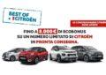 """""""BEST OF CITROËN"""": fino a 8.000 euro di Ecobonus"""