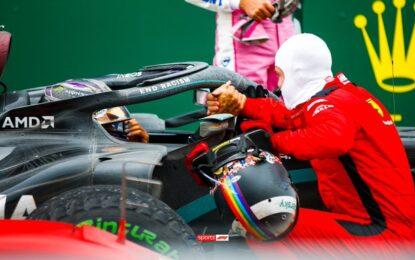 Vettel e Hamilton: immagini di un'amicizia mondiale