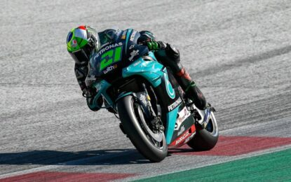 Morbidelli primo italiano in pole a Valencia dal 2014