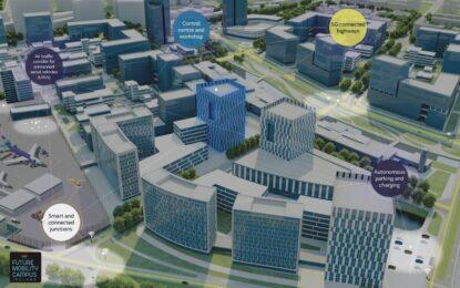 Una città intelligente per i test dei veicoli a guida autonoma