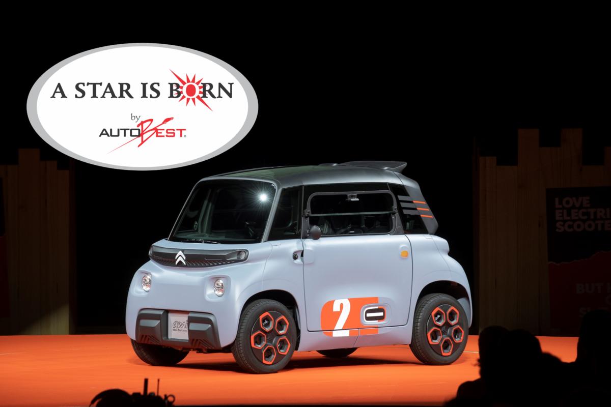 """A Citroën Ami il premio speciale """"A STAR IS BORN"""""""