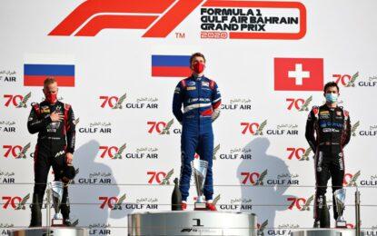 F2: quarta vittoria per Shwartzman nella Sprint Race in Bahrain