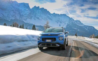 I vantaggi Citroën per affrontare l'inverno in sicurezza