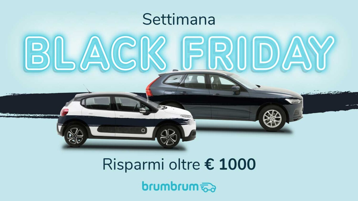 La settimana Black Friday di brumbrum