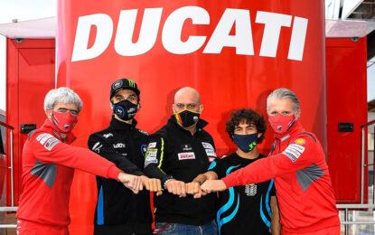Bastianini e Marini piloti Ducati del team Esponsorama Racing nel 2021