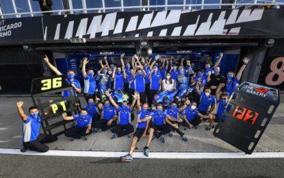 MotoGP: domenica perfetta per Suzuki a Valencia