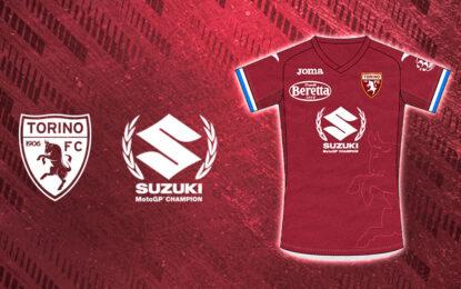 Torino FC: una maglia speciale per il Titolo Suzuki in MotoGP