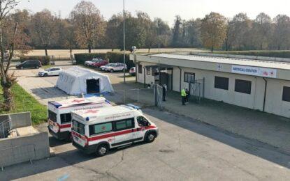Il centro medico di Monza check point per l'emergenza coronavirus