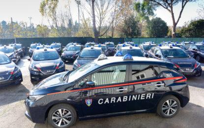 Nissan LEAF in dotazione all'Arma dei Carabinieri