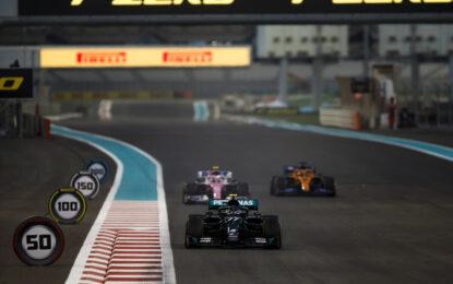 Nel venerdì di Abu Dhabi anche i test dei pneumatici 2021