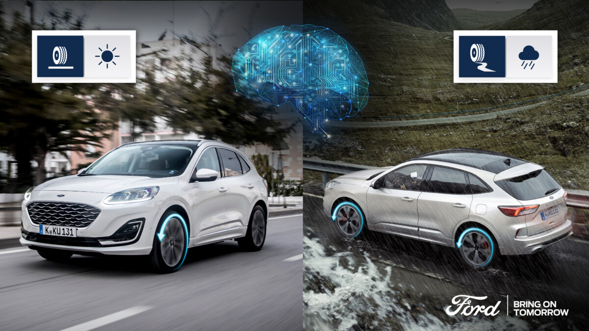 Ford Kuga Hybrid e l'intelligenza artificiale