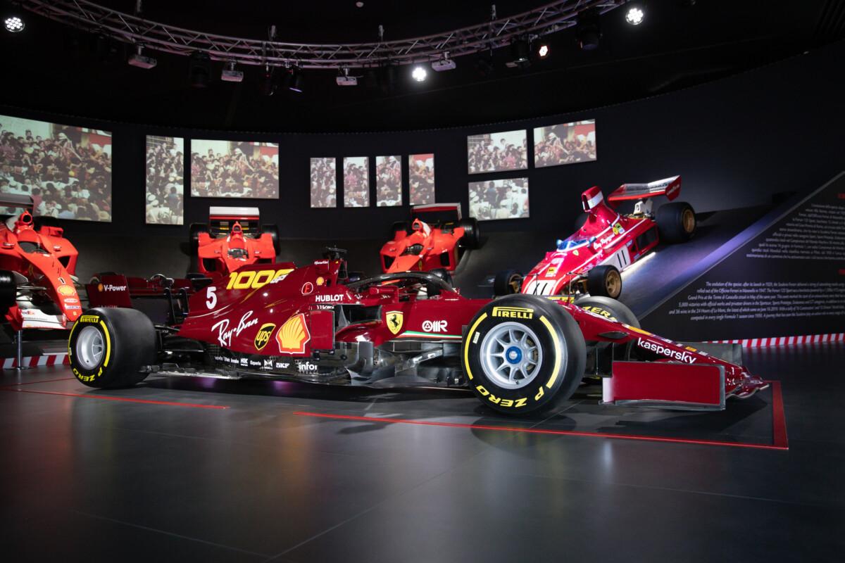 Un'asta speciale per celebrare i mille GP della Ferrari