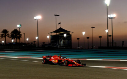 Oltre 100 giri per Leclerc e Vettel nel primo giorno ad Abu Dhabi