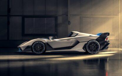 Lamborghini SC20: la open-top da pista firmata Squadra Corse