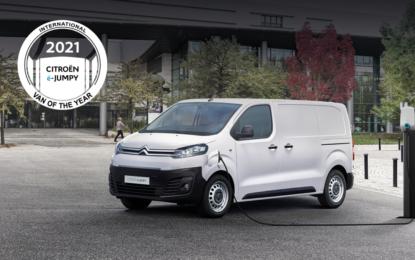 "Citroën ë-Jumpy ""International Van of The Year 2021"""