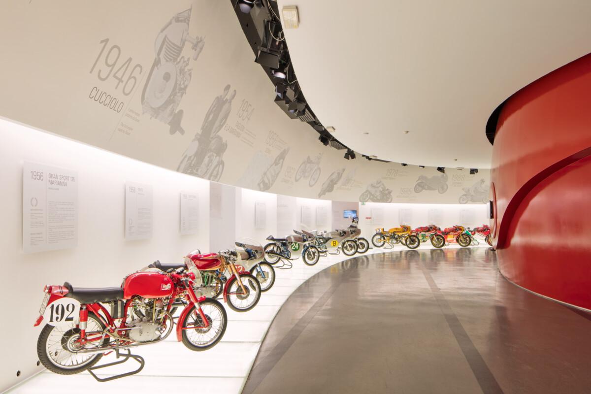 Ducati Online Journey: la visita da remoto del Museo Ducati