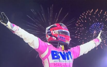 Sakhir: Perez! Con Ocon e Stroll a podio. Peccato per Russell