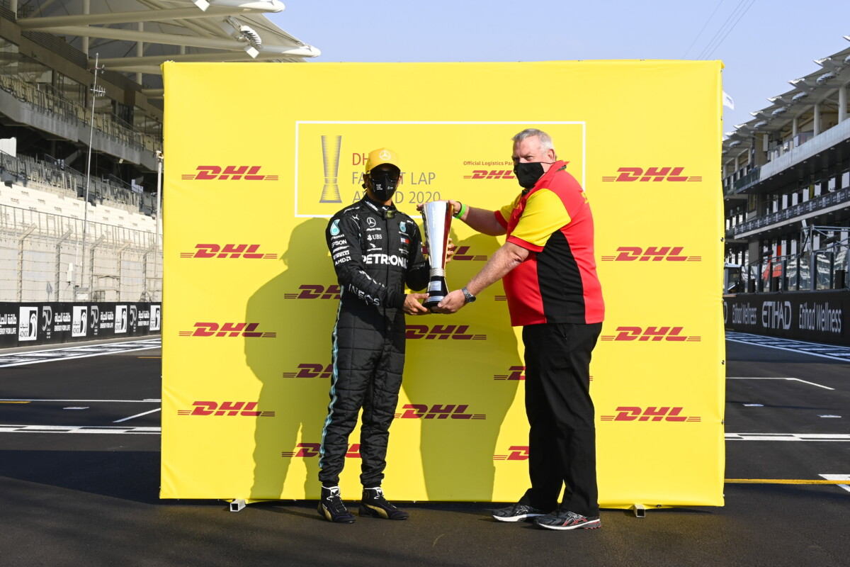 DHL Fastest Awards 2020 a Lewis Hamilton e Red Bull Racing