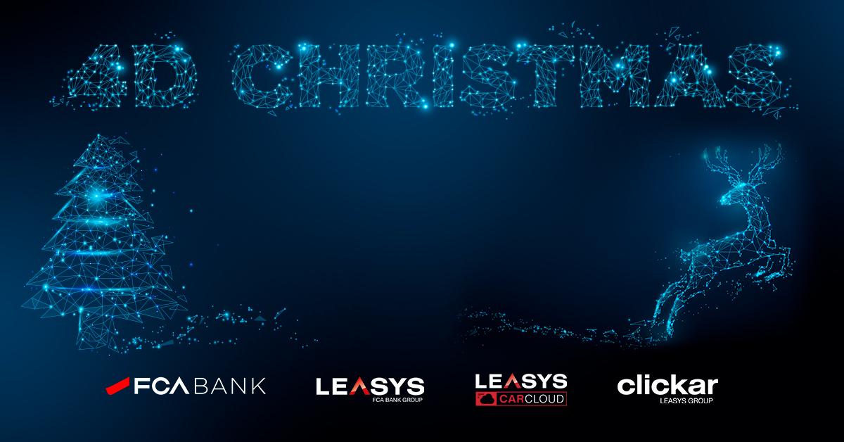 "FCA Bank e Leasys lanciano ""4D Christmas"": promo fino al 6 gennaio"