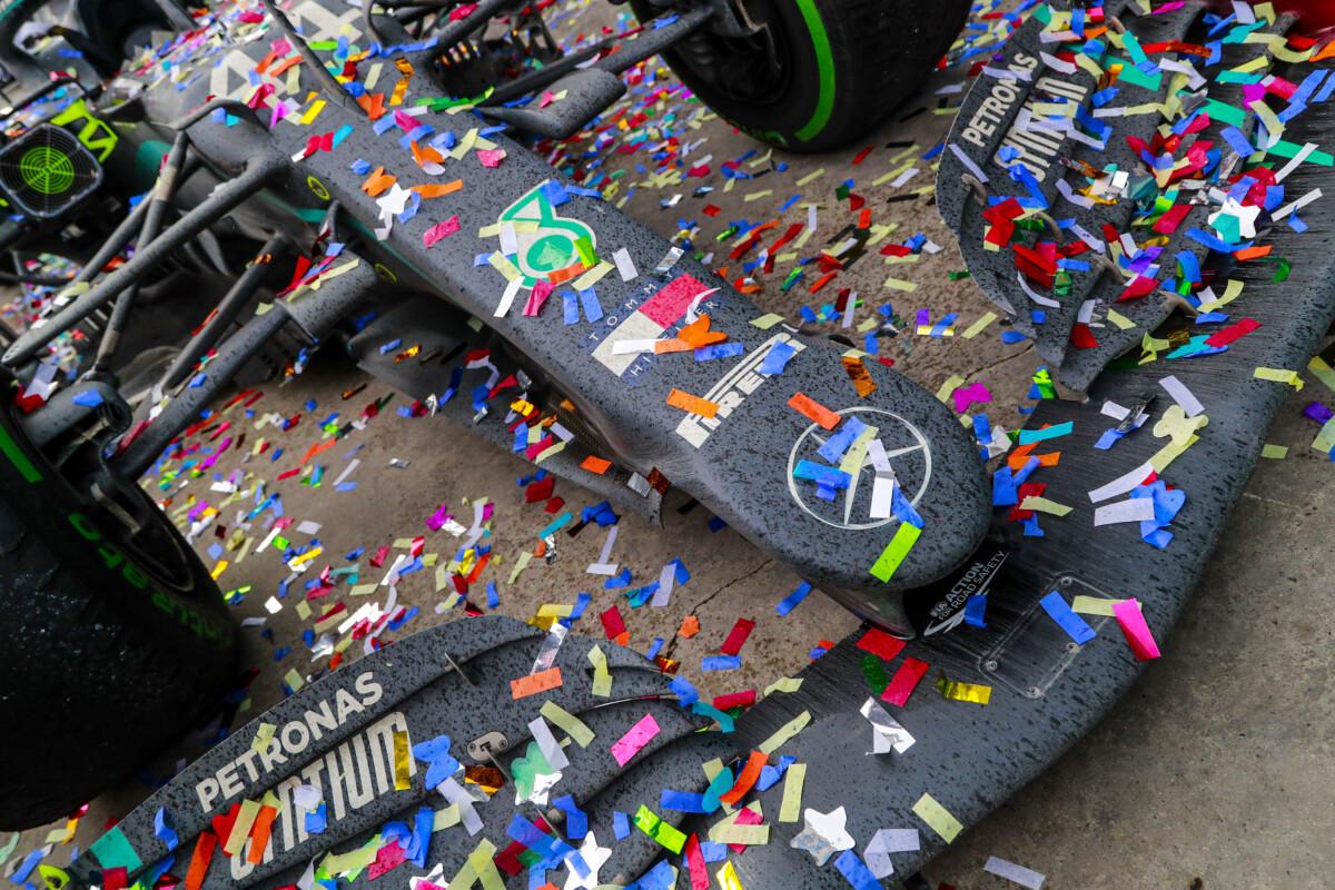 Wolff, Hamilton e Bottas ringraziano Petronas