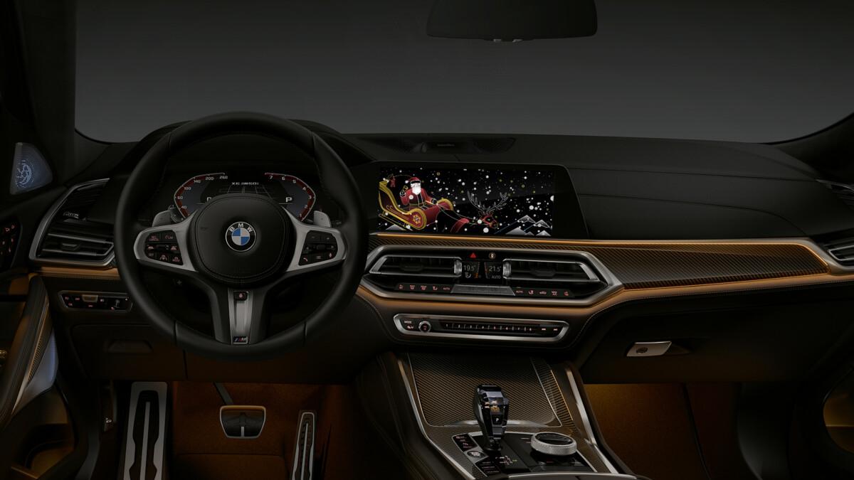 BMW: gli auguri arrivano direttamente in auto