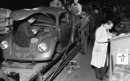 La genesi della produzione di serie del Maggiolino Volkswagen