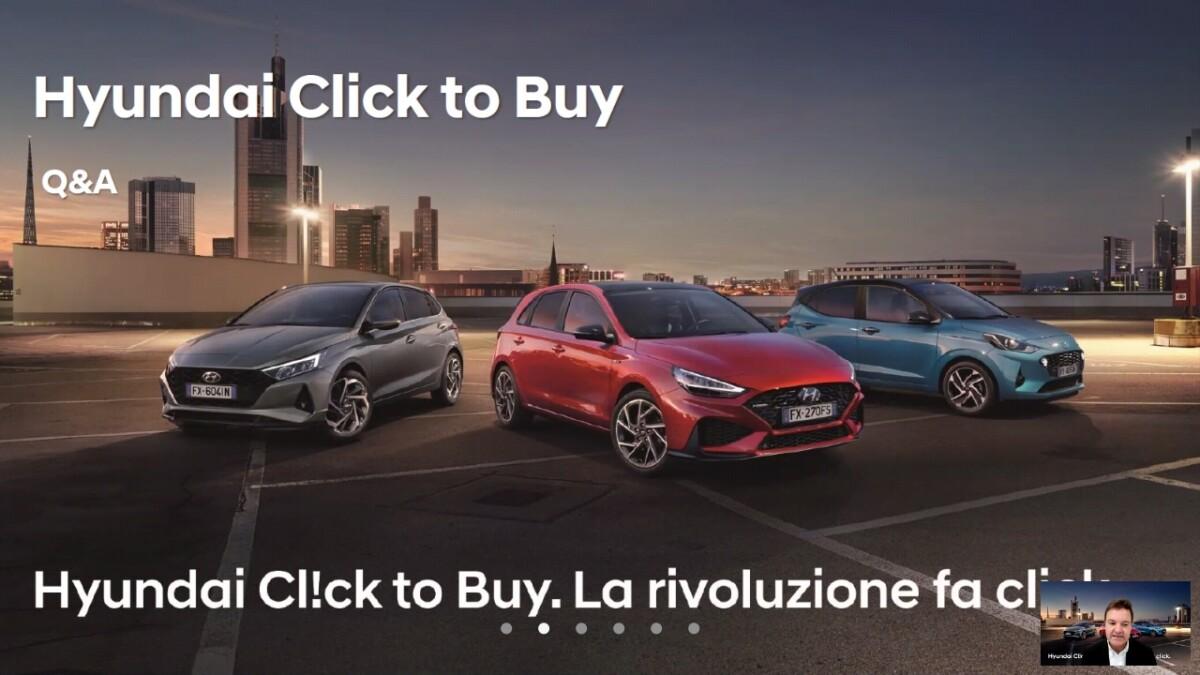 Fotogallery: presentazione Hyundai Click to Buy