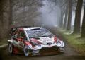 WRC: Ogier e Toyota leader nel primo giorno a Monza