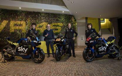 Svelate le livree 2021 dello Sky Racing Team VR46