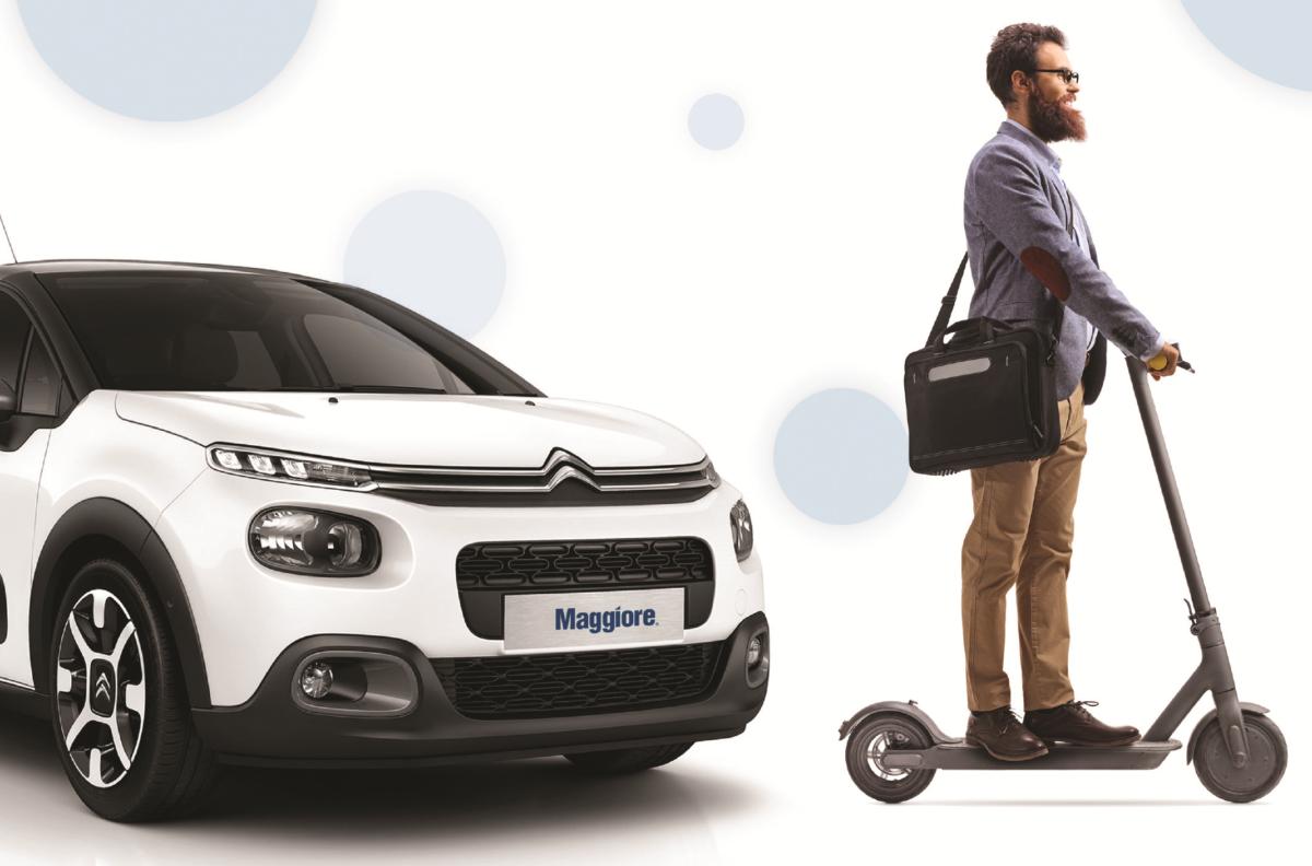 Avis Budget Group lancia il noleggio auto più monopattino
