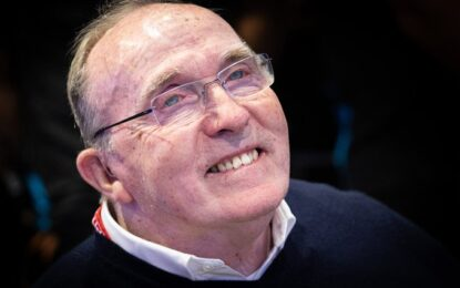Frank Williams è tornato a casa