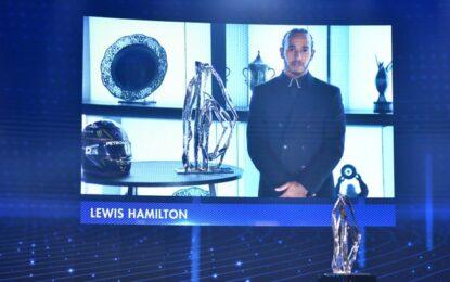 Un trofeo speciale ACI per Lewis Hamilton