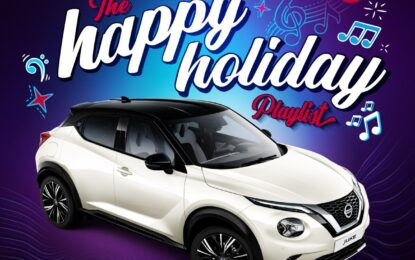 Nissan Juke presenta la Happy Holiday Playlist