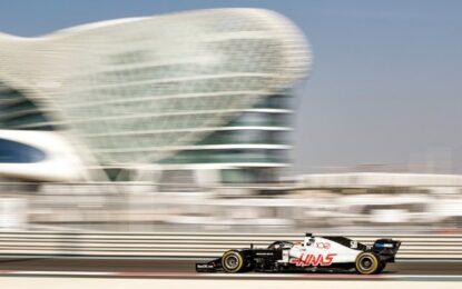 F1 di nuovo in pista per il test ad Abu Dhabi