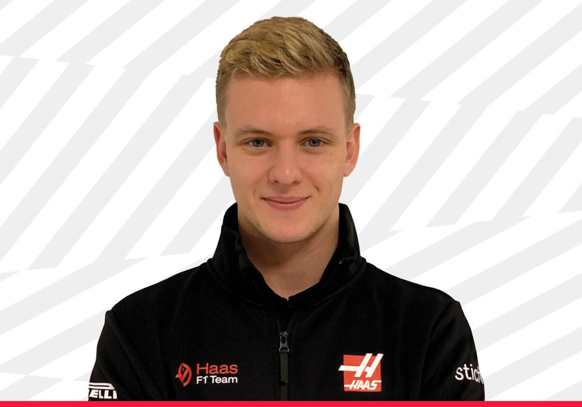 Mick Schumacher in F1 con il team Haas nel 2021