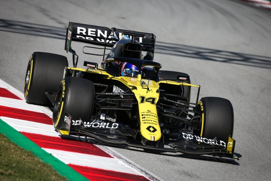 Zhou e Alonso in pista nel test giovani piloti di Abu Dhabi