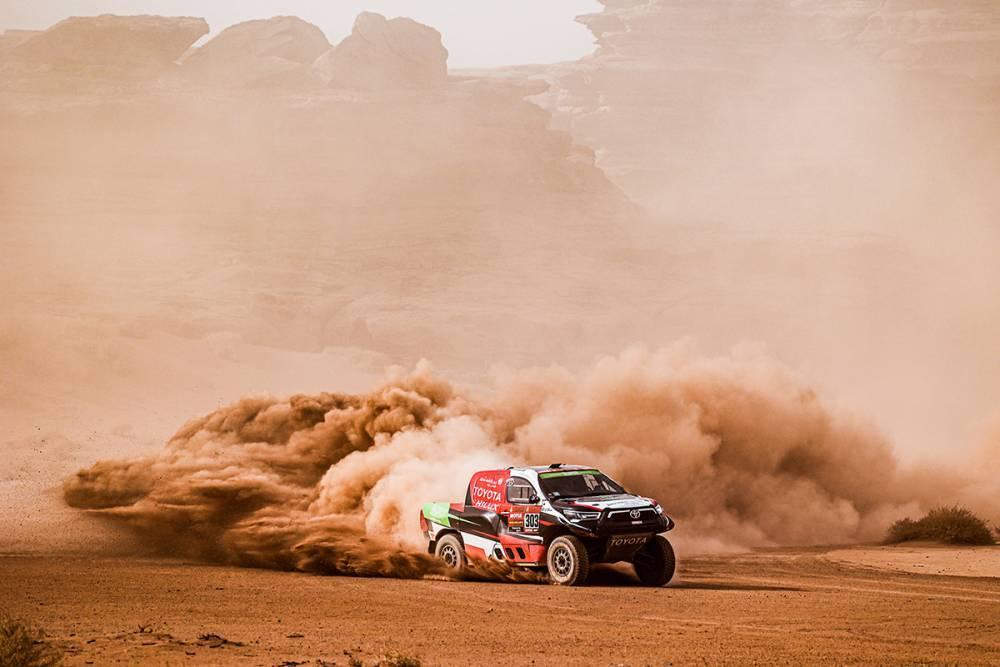Dakar: Honda e Toyota protagoniste della decima tappa