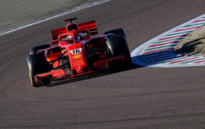 A Fiorano Leclerc dà il via al 2021 della Scuderia Ferrari