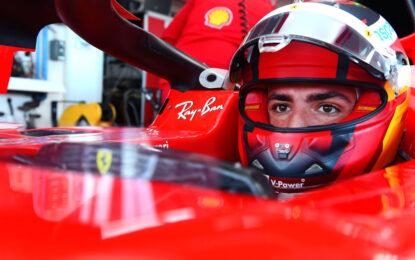 L'avventura di Carlos Sainz in Ferrari inizia con oltre 100 giri