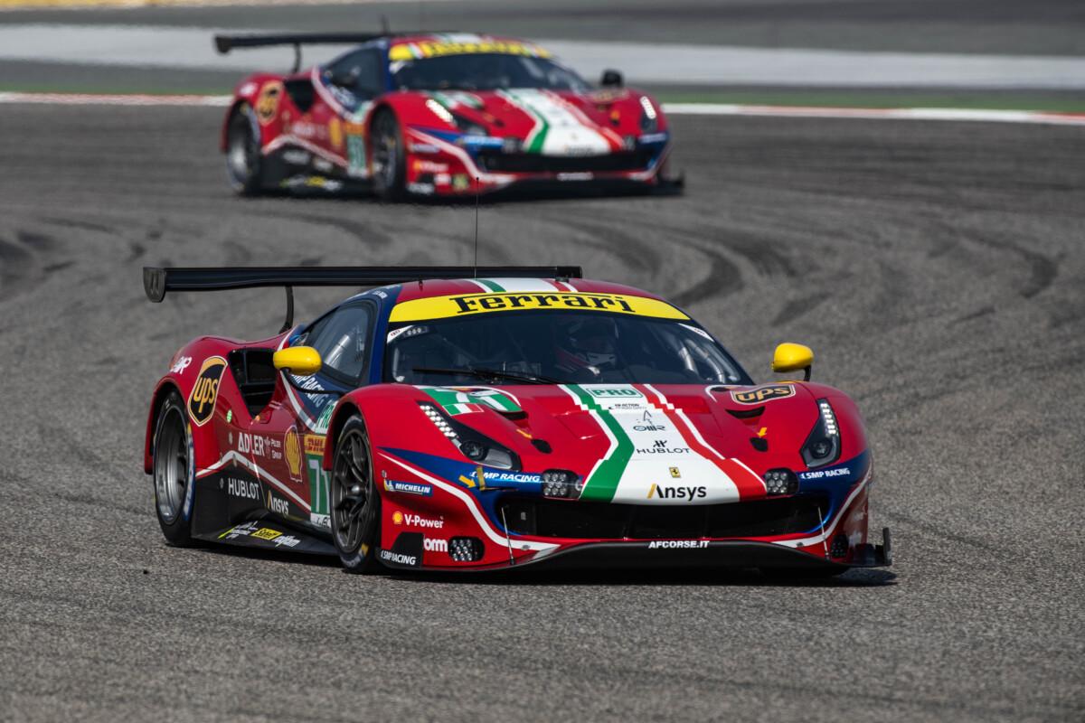 FIA WEC: conferme e novità per gli equipaggi Ferrari LMGTE Pro