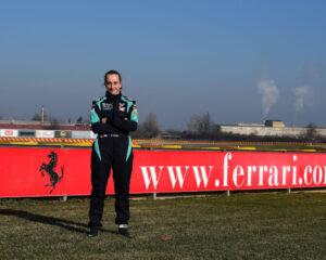 Maya Weug prima pilotessa della Ferrari Driver Academy