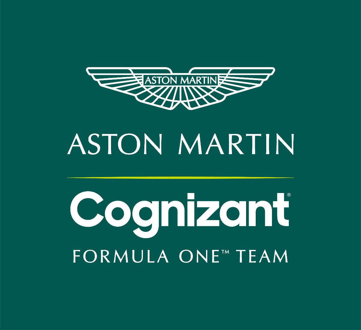 Cognizant title partner Aston Martin F1