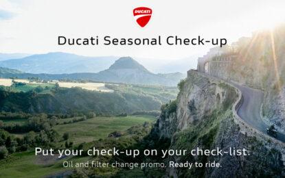Ducati Seasonal Check Up