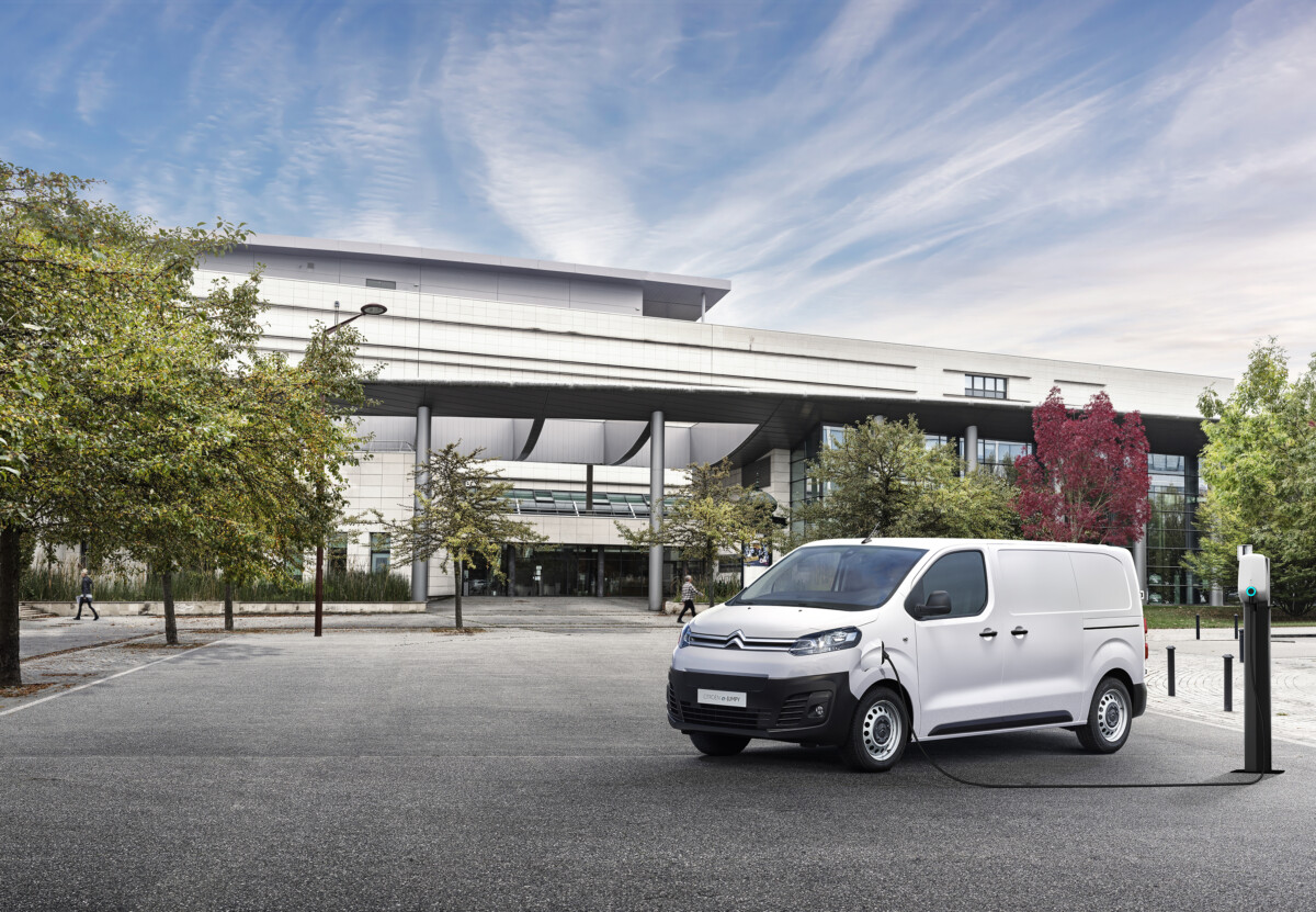 La gamma Citroën ë-Jumpy anche con batteria da 50 KWH