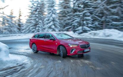 Opel: tutta la gamma è a prova di inverno