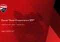 Ducati Team 2021: presentazione il 9 febbraio