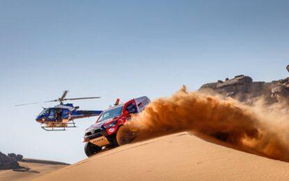 Dakar: seconda tappa agli esperti della sabbia Al Attiyah e Barreda