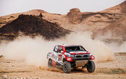 Dakar: nella quinta tappa prevale chi non esagera