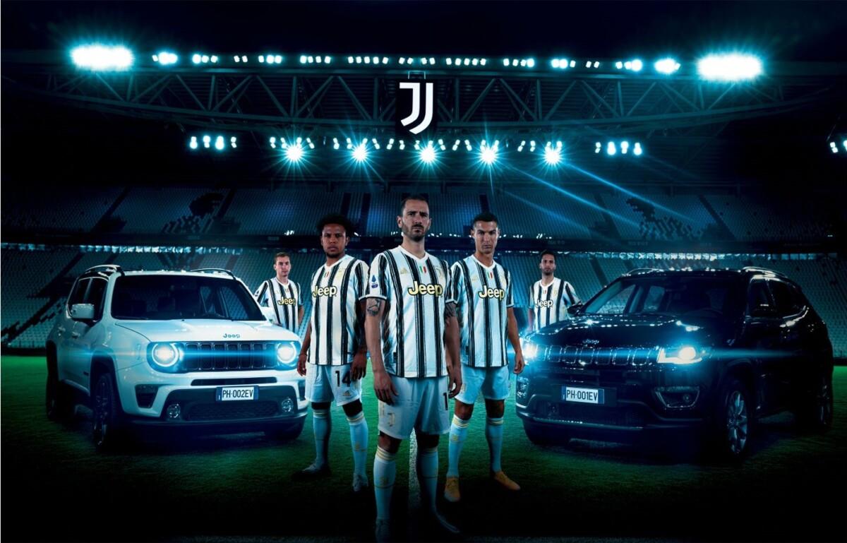 Jeep e Juventus festeggiano la Supercoppa Italiana 2020