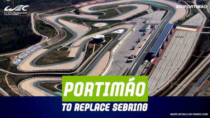 FIA WEC: Portimao sostituisce Sebring come primo round 2021